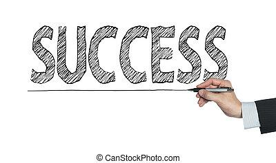 success written by hand