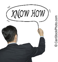 know how written by man - know how written by businessman in...