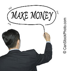 make money written by man - make money written by...