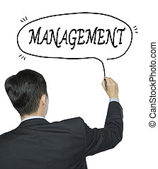 management written by man - management written by...
