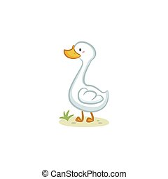 Goose - Cute Goose vector design