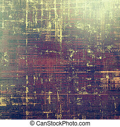 Art grunge background, vintage style textured frame. With...