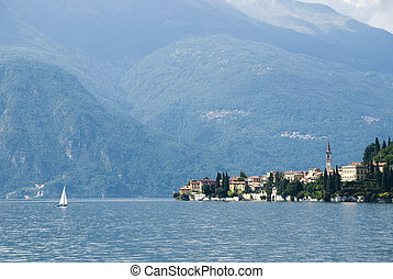the como lake in Italy