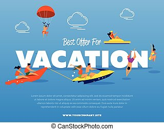 Best offer for vacation banner
