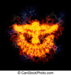 Fiery Dove of the Holy Spirit. - Dove of the Holy Spirit,...