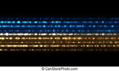 Bright shiny glowing lights video animation - Bright shiny...