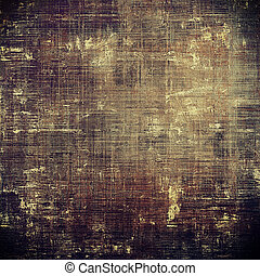 Retro style background with grungy vintage texture and...