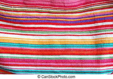 color stripped cloth texture