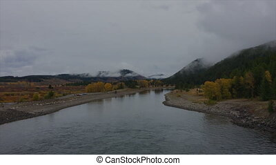 Snake River Grand Teton - View from Lake Jackson Dam Snake...
