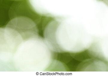 Abstrakt, grün,  bokeh, hintergrund, Natur