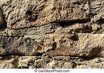 macro stone wall texture