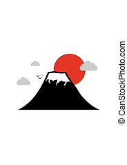Japan and Fuji Mountain, Travel Landmark