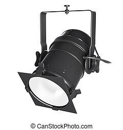 Spotlight, soffit or floodlight - 3d spotlight, soffit or...