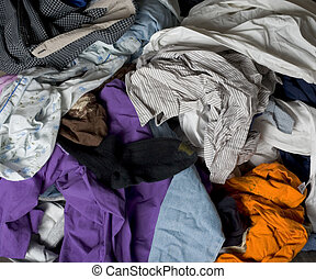 Laundry - Load of clean clothes