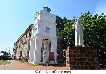Saint Paul church - Saint Paul Church at Melaka