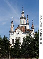Shadrinsk, Russia - August 10, 2016: Transfiguration...
