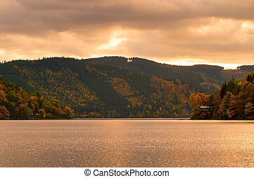 The big Tarn in Thuringia - The very big Tarn in the middle...