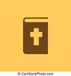 Bible icon. vector design. Religion, Bible symbol. web. graphic. JPG. AI. app. logo. object. flat. image. sign. eps. art. picture