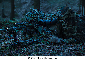 army rangers sniper pair - United states army rangers sniper...
