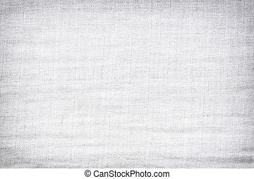 Texture of white raw fabric for the background design. -...
