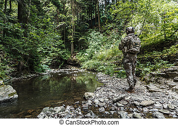 army ranger in the mountains - United states army ranger in...