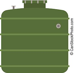 Barrel capacity tanks vector - Container liquid cask storage...