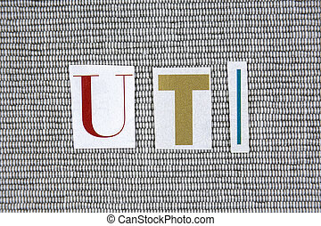 UTI (Urinary Tract Infection) concept - UTI (Urinary Tract...