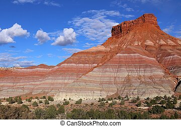Colorful Hills in Old Paria, Grand Staircase-Escalante...