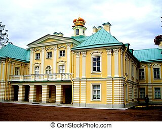 Menshikov palace - a close associate and friend of the...