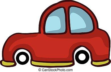 Small car style design for kids vetcor illustration