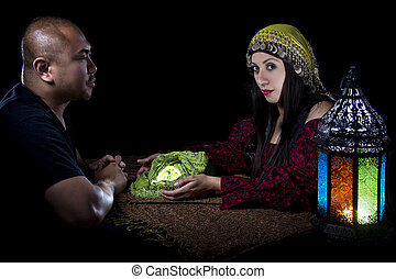 Psychic Reading - Psychic reading with a fortune teller and...