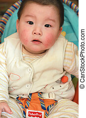 lovely chinese baby