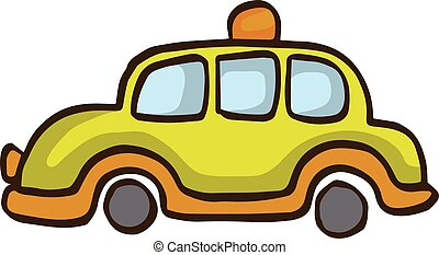 Collection car for kids vector art illustration