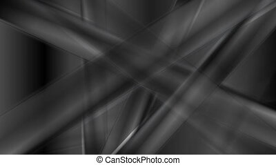 Abstract black stripes dark video animation - Abstract black...
