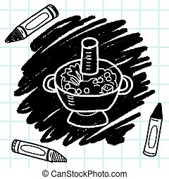Chafing dish doodle