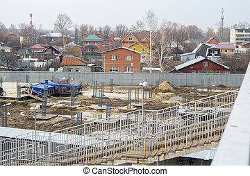 Construction in Suburbs