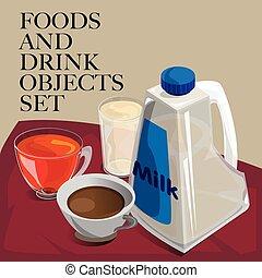 food drink coffee tea milk