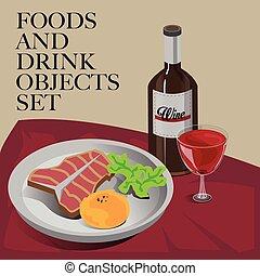 food drink steak