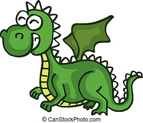 dragon cute smiling happy toy for kids
