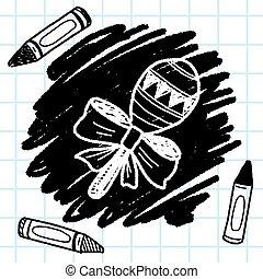 doodle rattle