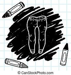 pant doodle