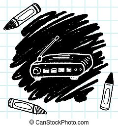 modem doodle