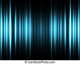 Laser background - Blue dynamic lines on white background,...