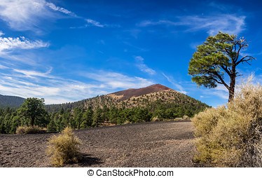 Sunset Crater National Monument near Flagstaff, Arizona USA