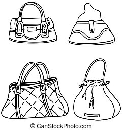 Handbags Vector Clip Art EPS Images. 9,948 Handbags clipart vector ...
