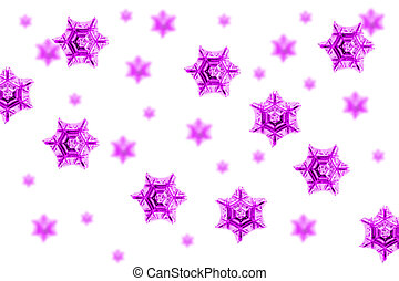 snow flakes background with the blue color