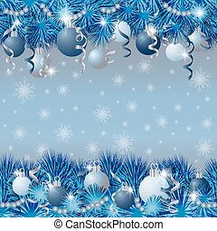 Seamless silver winter background, vector illustration