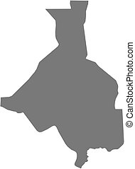 Map - Upper Nile (South Sudan) - Map of Upper Nile, a...