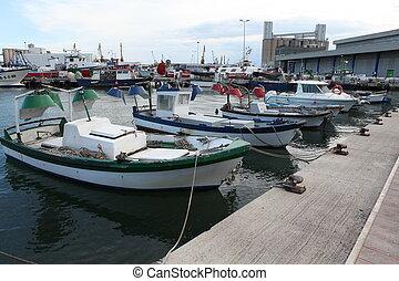 barcos,  tarragona, pesca, españa, puerto