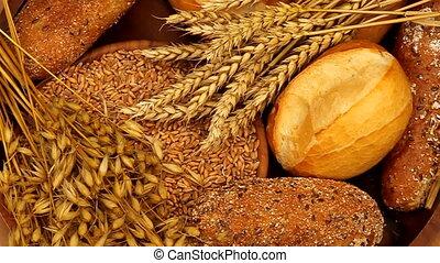 cereals - bread and grain